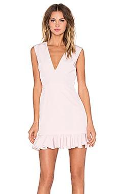 NBD Senseless Dress in Pink & White