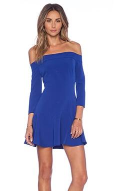 NBD Smoke Mirrors Dress in Cobalt