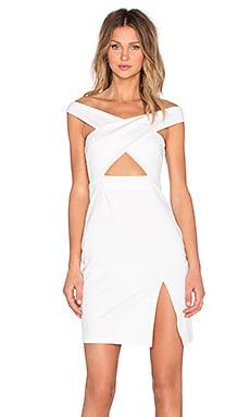 NBD x REVOLVE Criss Cross Midi Dress in White