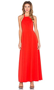 x Naven Twins High Times Maxi Dress in Red