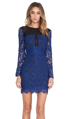 Girls Night Out Dress in Navy