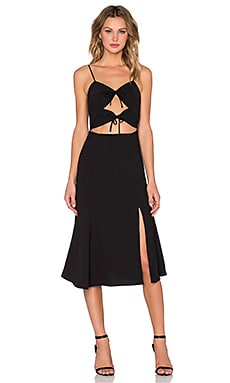 NBD Tie Me Down Dress in Black