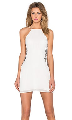 x REVOLVE Wide Eyed Dress in Ivory