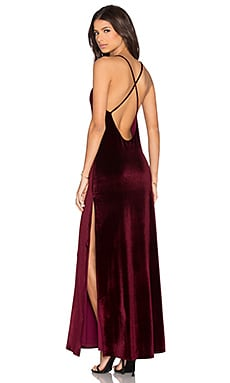 NBD In The Deep Maxi Dress in Wine