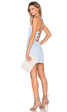 x REVOLVE Lauren Bodycon Dress in Periwinkle