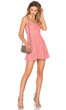 NBD Give It Up Dress in Pink Sorbet