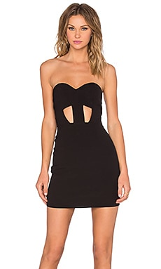 NBD x Naven Twins Weekend Stay Bodycon Dress in Black