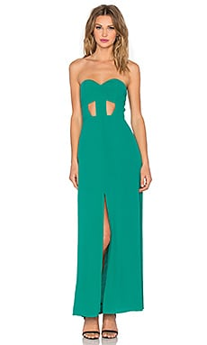 x Naven Twins Weekend Stay Maxi Dress en Sea Green