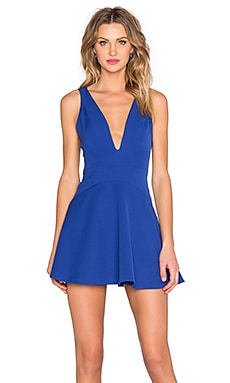 NBD Ride Or Die Dress in Cobalt