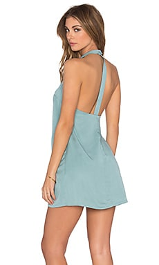 x REVOLVE Don't Turn Back Dress in Mint