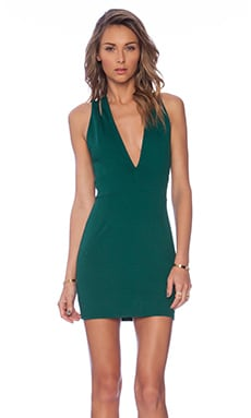 Late Night Dress in Emerald