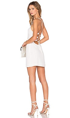 x REVOLVE Lauren Bodycon Dress in White