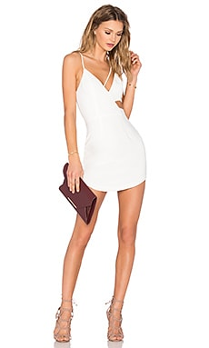 Conquer The World Dress in White