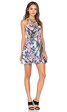 x Naven Twins Eye Candy Dress