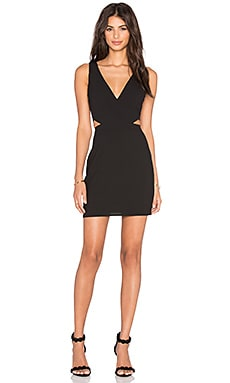 x Naven Twins Sweet Lust Bodycon Dress in Black