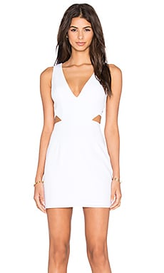 NBD x Naven Twins Sweet Lust Bodycon Dress in White