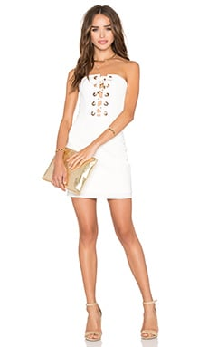 NBD x REVOLVE Don't Stop Dress in White