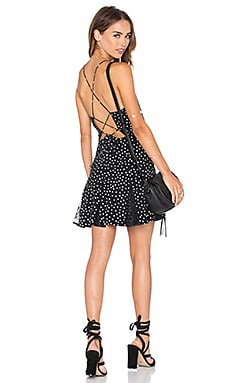Rolling Stone Dress in Polka Dot