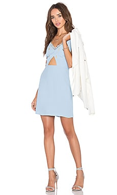 x Naven Twins Remix Dress in Sky Blue