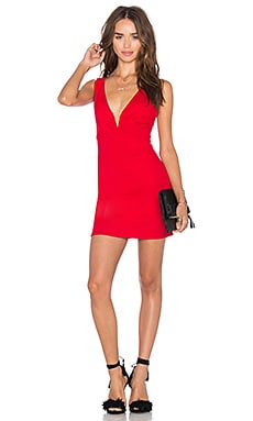 Out of Touch Dress in Red