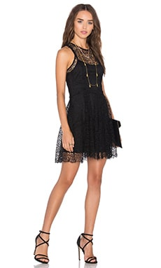 Solitude Bliss Dress in Black