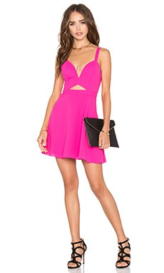 x Naven Twins Alright Sweetheart Fit & Flare Dress