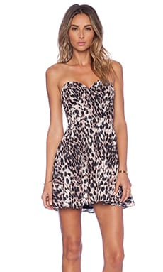 NBD x Naven Disclosure Dress in Leopard
