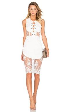 NBD Voyage Dress in Ivory