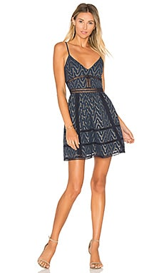 Miley Mini Dress in Navy