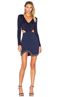 Kaia Dress in Navy