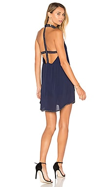 Lourdes Dress in Marineblau