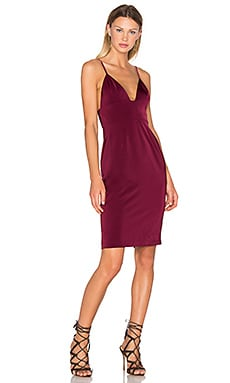 Heatwave Dress in Oxblood