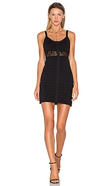 x Naven Twins Bottle Service Bandage Dress in Black