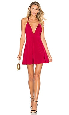 NBD x Naven Twins x REVOLVE Sugar Sugar Dress in Maroon