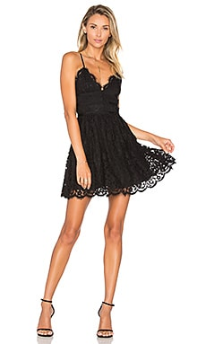 x REVOLVE Give It Up Dress in Black