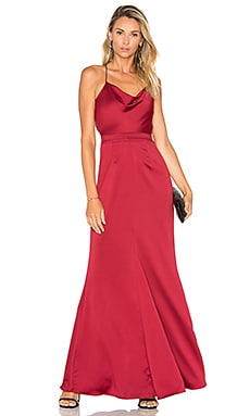 x REVOLVE Seraphina Gown in Red