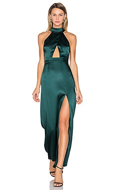 x REVOLVE Zendaya Dress in Dark Green