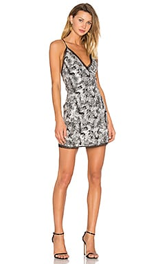 Sloan Dress in Silver Sequin
