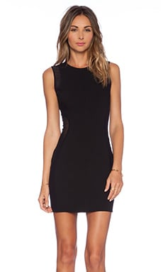x Naven Twins Vanish Bodycon Dress en Noir