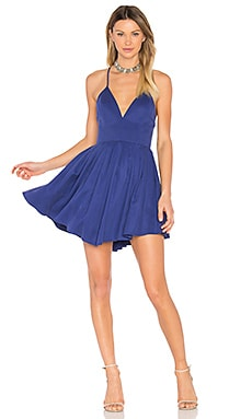 Suki Mini Dress in Deep Cobalt