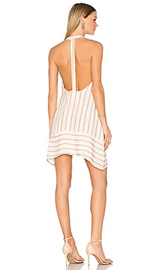 Ivy Shift Dress in Sandstone Stripe