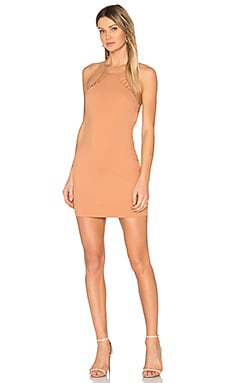Hudson Mini Dress in Sandstone