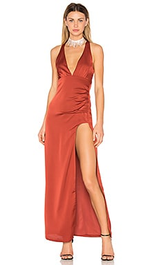 x REVOLVE Hattie Gown in Sangria