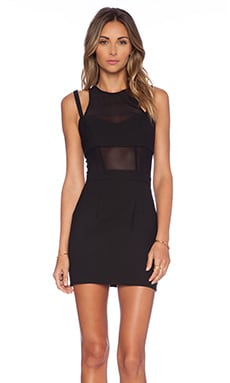 x Naven Kisser Dress in Black