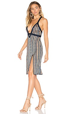 x REVOLVE Offense Dress in Sunset Waves