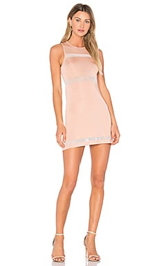 x REVOLVE Valencia Dress in Dusty Pink