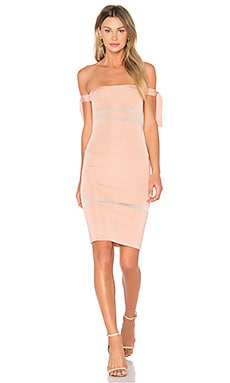 x REVOLVE Alyssa Dress in Dusty Pink