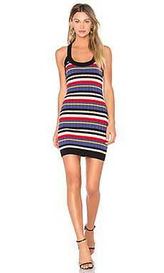 Jenna Dress in Sand Dune Stripes