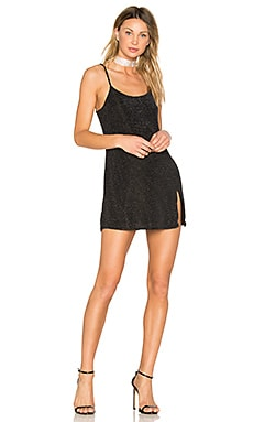 Jaxon Mini Dress in Black & Silver