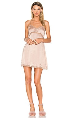 Illiana Mini Dress in Taupe